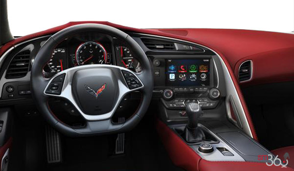 2018 Chevrolet Corvette Coupe Stingray 3LT | Photo 3 | Spice Red Competition Sport buckets Perforated Mulan leather seating surfaces (755-AE4)