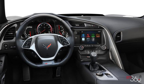 2018 Chevrolet Corvette Coupe Z06 1LZ   Photo 2   Grey GT buckets Perforated Mulan leather seating surfaces (141-AQ9)