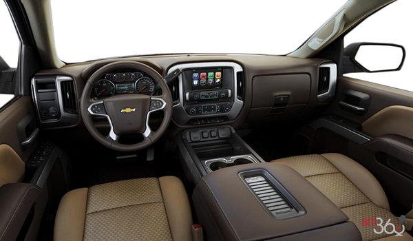 2018 Chevrolet Silverado 1500 LT 1LT   Photo 3   Cocoa/Dune Bucket seats Cloth (A95-H2T)