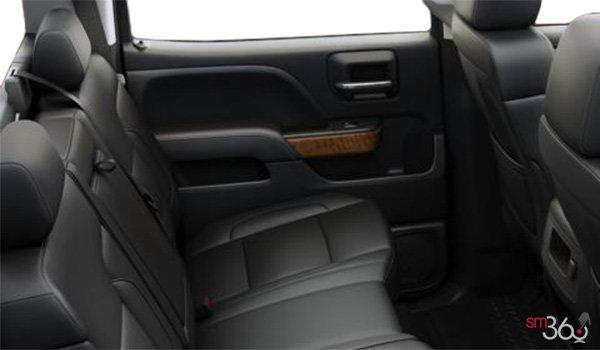 2018 Chevrolet Silverado 1500 LTZ 1LZ   Photo 2   Jet Black Bucket seats Perforated Leather (AN3-H3B)