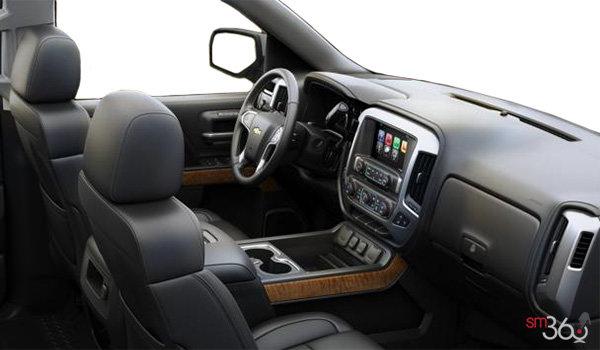 2018 Chevrolet Silverado 1500 LTZ 1LZ   Photo 1   Jet Black Bucket seats Perforated Leather (AN3-H3B)