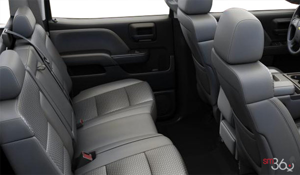 2018 Chevrolet Silverado 2500HD WT   Photo 2   Dark Ash/Jet Black Cloth (AE7-H2R)