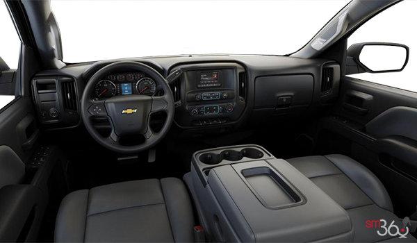 2018 Chevrolet Silverado 2500HD WT   Photo 3   Dark Ash/Jet Black Vinyl (AE7-H2Q)