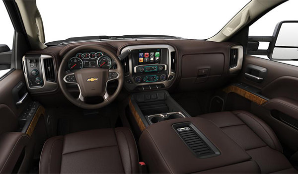 2018 Chevrolet Silverado 3500 HD HIGH COUNTRY | Photo 3 | Saddle Perforated Leather Buckets Seats (HQZ-AN3)