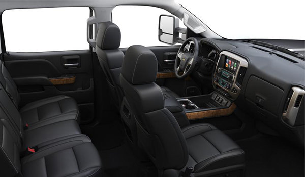 2018 Chevrolet Silverado 3500 HD HIGH COUNTRY | Photo 1 | Jet Black/Medium Ash Grey Perforated Leather Buckets Seats(H4S-AN3)