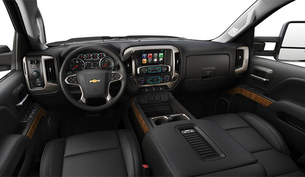 2018 Chevrolet Silverado 3500 HD HIGH COUNTRY | Photo 3 | Jet Black/Medium Ash Grey Perforated Leather Buckets Seats(H4S-AN3)