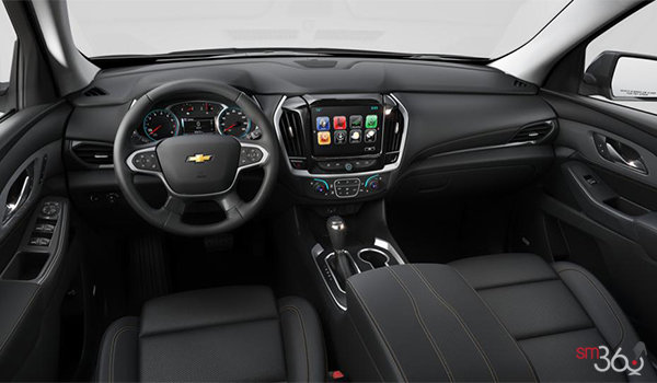 2018 Chevrolet Traverse PREMIER   Photo 3   Jet Black Perforated Leather