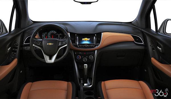 2018 Chevrolet Trax PREMIER | Photo 3 | Jet Black/Brandy Bucket seats Leatherette (AEY-AR9)