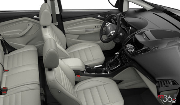 2018 Ford C-MAX HYBRID TITANIUM   Photo 1   Medium Light Stone Leather (DL)