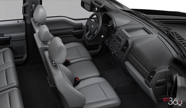 2018 Ford Chassis Cab F-350 XL   Photo 1   Medium Earth Grey HD Cloth Bench (1S)