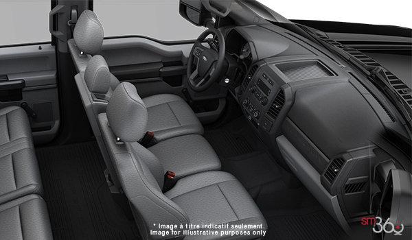 2018 Ford Chassis Cab F-350 XL   Photo 1   Medium Earth Grey HD Cloth (4S)