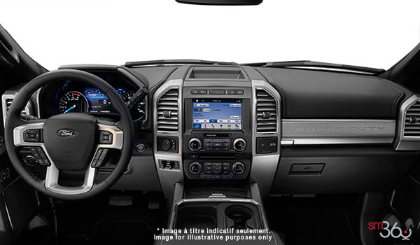 2018 Ford Chassis Cab F-450 LARIAT | Photo 3 | Black Premium Leather Split Bench (6B)