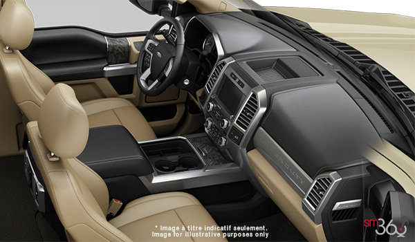 2018 Ford Chassis Cab F-450 LARIAT | Photo 1 | Camel Premium Leather Split Bench(6A)