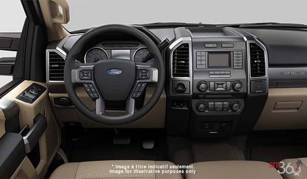 2018 Ford Chassis Cab F-550 XLT | Photo 3 | Camel Cloth Luxury Captain's Chairs (2A)