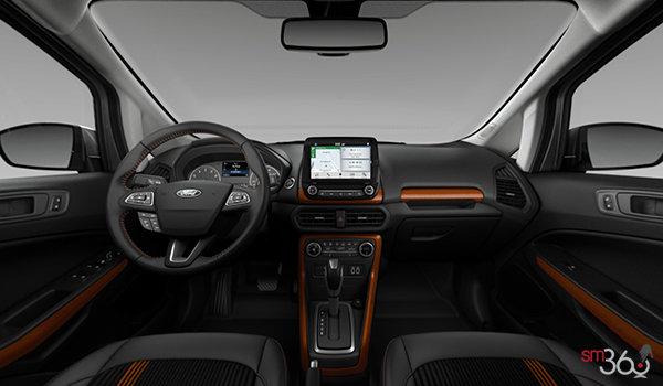 2018 Ford Ecosport SES   Photo 3   Ebony Black Partial Leather/Cloth