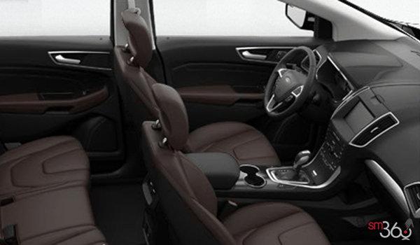 2018 Ford Edge TITANIUM   Photo 1   Cognac Perforated Leather