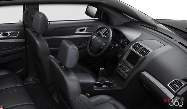 2018 Ford Explorer XLT | Photo 1 | Ebony Black Leather (BW)