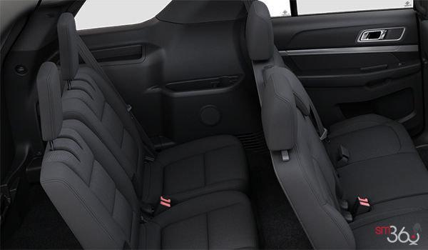 2018 Ford Explorer XLT | Photo 2 | Ebony Black Unique Cloth  (8W)