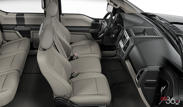 2018 Ford F-150 XLT   Photo 1   Medium Light Camel Cloth Bench (MC)