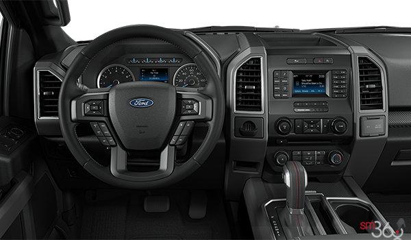 2018 Ford F-150 XLT   Photo 3   Black Sport Cloth Buckets Seats (FB)