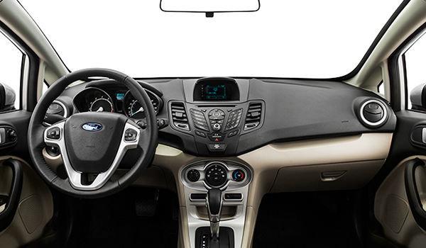 2018 Ford Fiesta Sedan SE | Photo 3 | Medium Light Stone Embossed Cloth (1S)