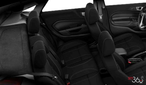 2018 Ford Fiesta Sedan SE | Photo 2 | Charcoal Black Unique Cloth Bolster w/Silver Seat Stitching  (GD)