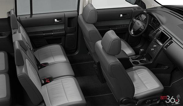 2018 Ford Flex SEL | Photo 1 | Two-Tone Leather Light Earth Grey/Dark Earth