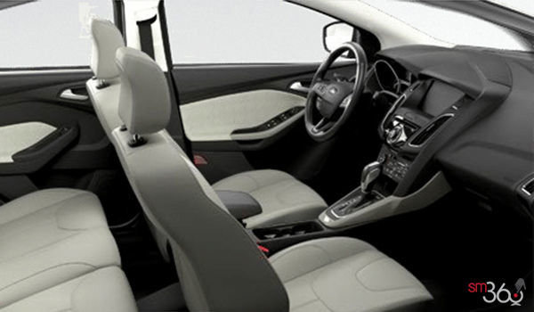 2018 Ford Focus Sedan TITANIUM | Photo 1 | Medium Soft Ceramic Leather