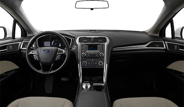 2018 Ford Fusion Hybrid S | Photo 3 |  Medium Light Stone Cloth (DE)