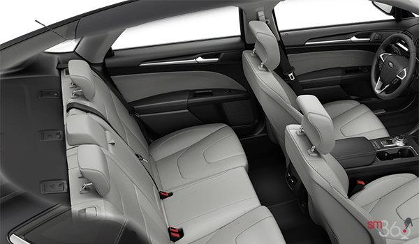 2018 Ford Fusion Hybrid TITANIUM   Photo 2   Medium Soft Ceramic Leather (CM)
