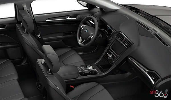 2018 Ford Fusion Hybrid TITANIUM   Photo 1   Ebony Leather (CT)