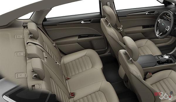 2018 Ford Fusion SE | Photo 2 | Medium Light Stone Leather (BQ)