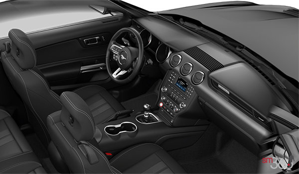 2018 Ford Mustang Convertible EcoBoost | Photo 1 | Ebony Cloth (21)