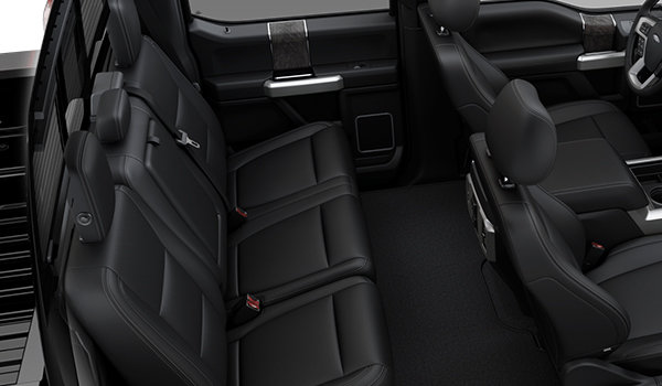 2018 Ford Super Duty F-250 LARIAT | Photo 2 | Black Premium Leather Captain's Chairs (5B)