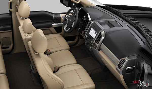 2018 Ford Super Duty F-350 LARIAT | Photo 1 | Camel Premium Leather Split Bench(6A)