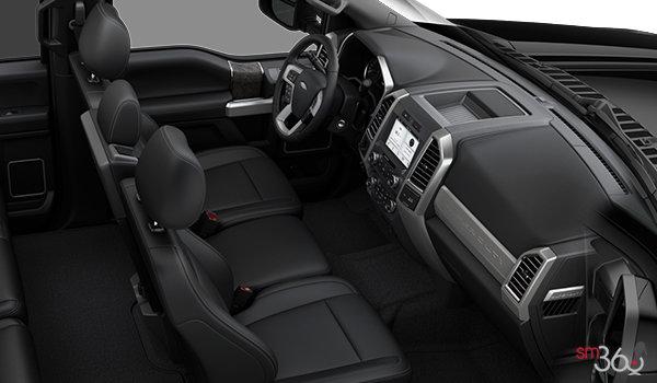 2018 Ford Super Duty F-350 LARIAT | Photo 1 | Black Premium Leather (6B)