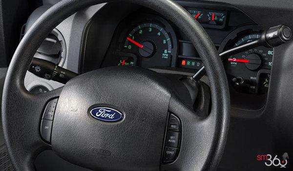 2018 Ford E-Series Cutaway 450 | Photo 2 | Medium Flint Cloth Captain's Chairs (ME)