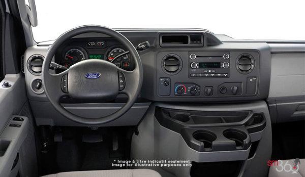 2018 Ford E-Series Cutaway 450 | Photo 3 | Medium Pebble Cloth Captain's Chairs (MW)