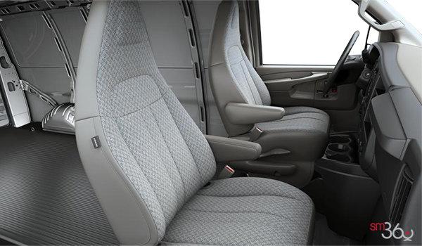 2018 GMC Savana 2500 CARGO   Photo 1   Medium Pewter Cloth(93G-AS5)