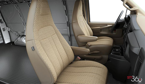 2018 GMC Savana 2500 CARGO   Photo 1   Neutral Cloth (52G-AS5)