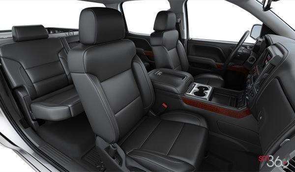 2018 GMC Sierra 1500 SLT | Photo 1 | Jet Black Bucket seats Leather (AN3-H2U)