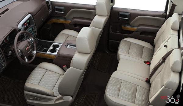 2018 GMC Sierra 3500HD SLE   Photo 2   Cocoa/Dune Bucket seats Cloth (H2T-A95)
