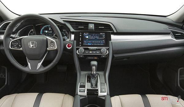 2018 Honda Civic Sedan TOURING   Photo 3   Ivory Leather