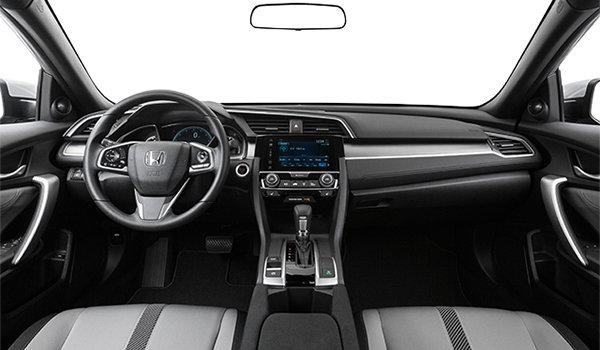 2018 Honda Civic Coupe EX-T HONDA SENSING   Photo 3   Grey Fabric