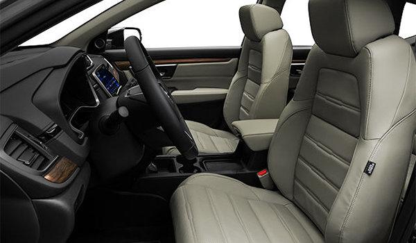 2018 Honda CR-V TOURING   Photo 1   Ivory Perforated Leather