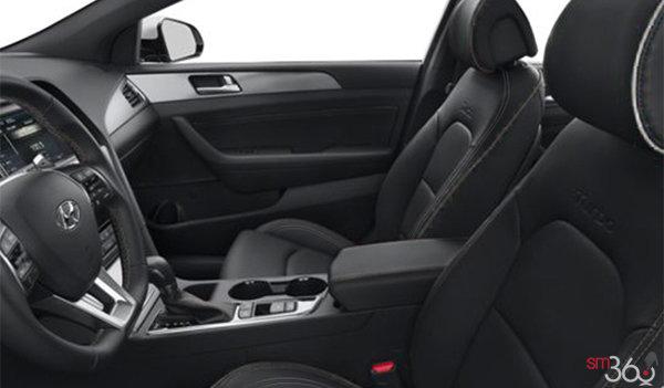 2018 Hyundai Sonata 2.0T SPORT | Photo 1 | Black Leather w/Grey Piping