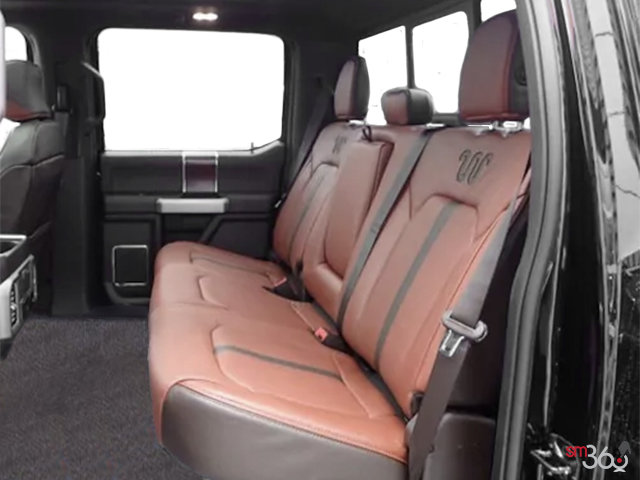 2018 Ford Super Duty F-450 KING RANCH | Photo 2 | Unique King Ranch Java Kingsville Brown Leather Captain's Chairs (SP)