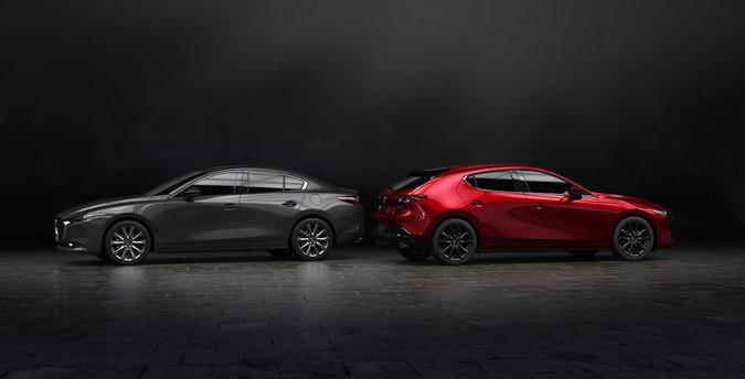 The 2019 Mazda3 looks spectacular