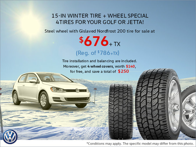 Winter Tire Special