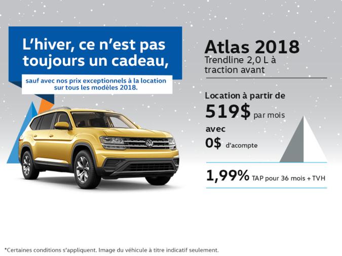 Obtenez l'Atlas 2018 dès aujourd'hui